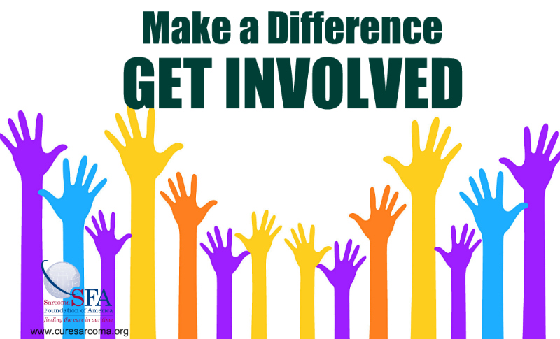 Make a difference, Get Involved