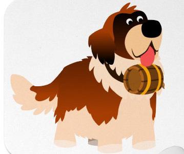 woof walk mascot