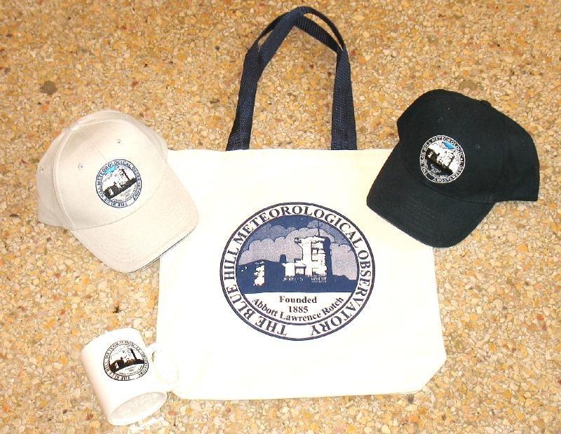 Bag, hats, mug
