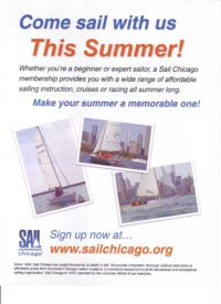 Sail Chicago Poster