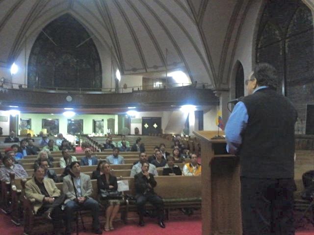 En la iglesia evangélica de New Jersey
