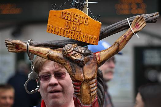Image of crucified Christ