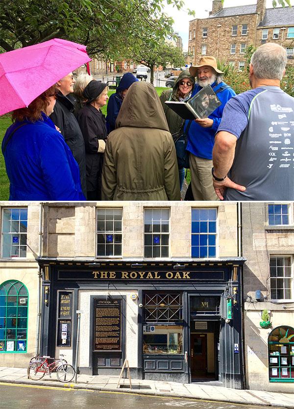 The Ian Rankin Inspector John Rebus Tour of Edinburgh 07012016