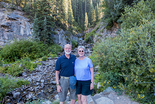 Roger & Vivien in Durango, Colorado 09082014