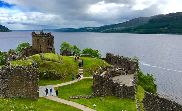 Loch Ness Cruise _ Tour of Urquhart Castle 06272016