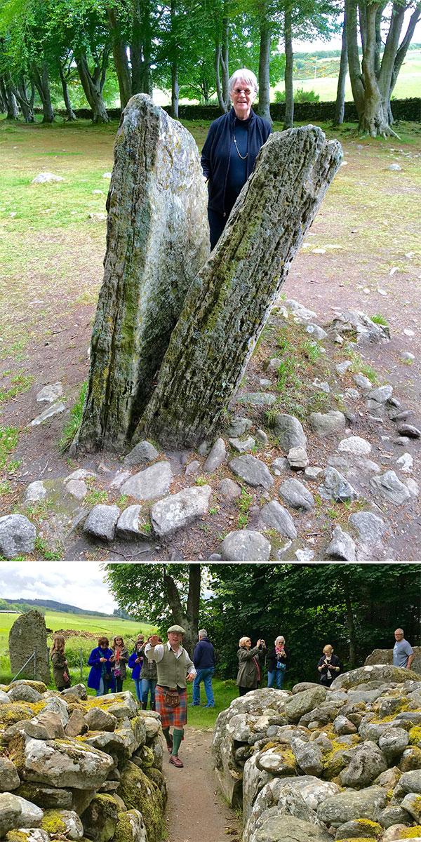 Balnuaran of Clava_ A Prehistoric Cairn Cementery near Inverness 06272016