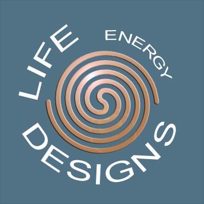 logo LED blue