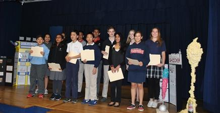 JH Science Fair Winners 2013