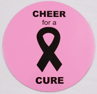 Cheer For A Cure in Pink