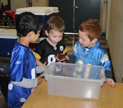 Preschool visits Mobile Tidepools