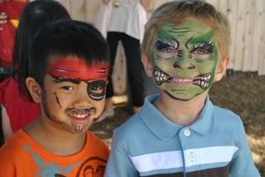 Summer Preschool Face Painting