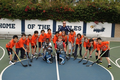 4th Grade Street Hockey Team 2013