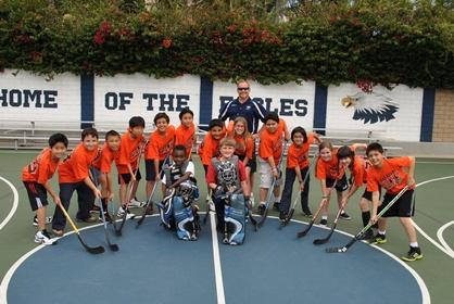 4th Grade Street Hockey Team 2013