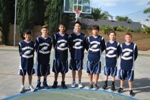 JH Boys Basketball New Uniforms