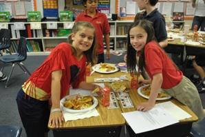 3rd grade Food Fest 2012