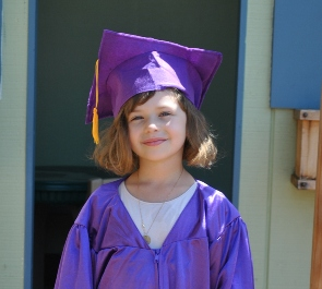 Preschool Cap and Gown 2012