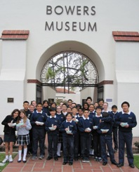 6th to Bowers Museum 2012