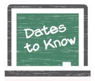 Dates to Know Icon