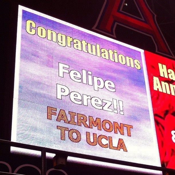 Felipe Perez Angels Game
