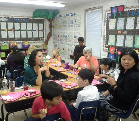2nd grade Mother's Day Breakfast 2013