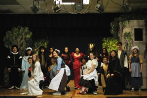 8th grade drama into the woods