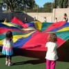 P4 rainbow parachute