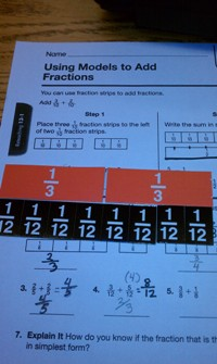 2nd grade fractions 2