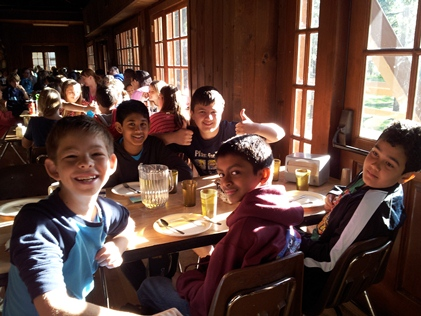 6th grade astro camp breakfast 2013