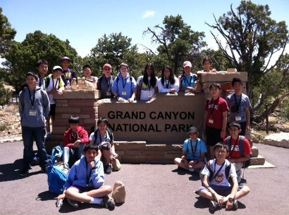 7th grade to grand canyon 2013
