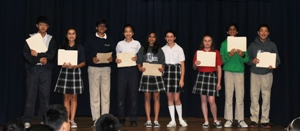 JH Science Fair Winners 8th grade