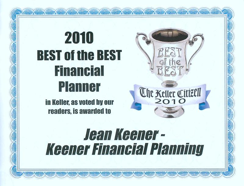 Best Financial Planner Award