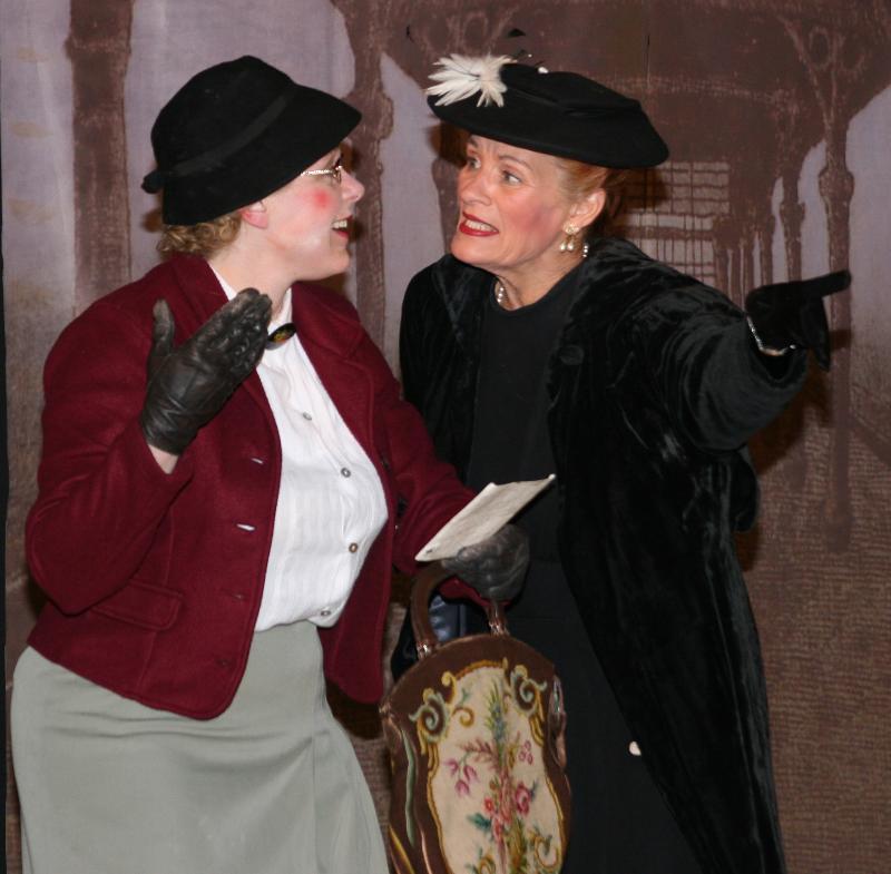 Agnes and I; den Zug, fahrt est..
