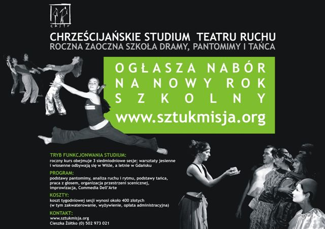 Polish school flyer