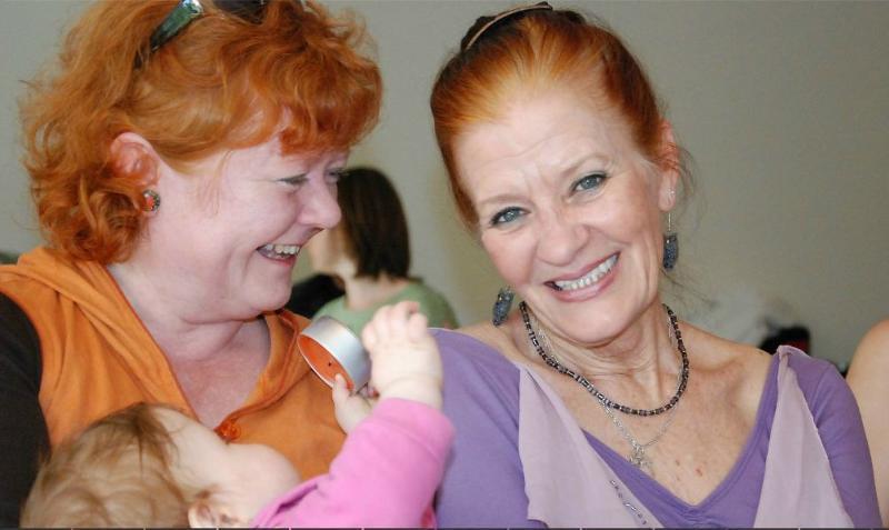 Ulla and Kathleen