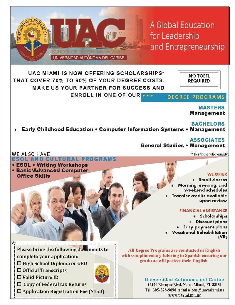 UAC - Scholarship