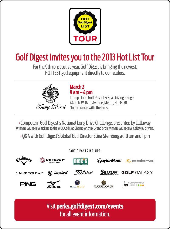 Golf Tour Promo