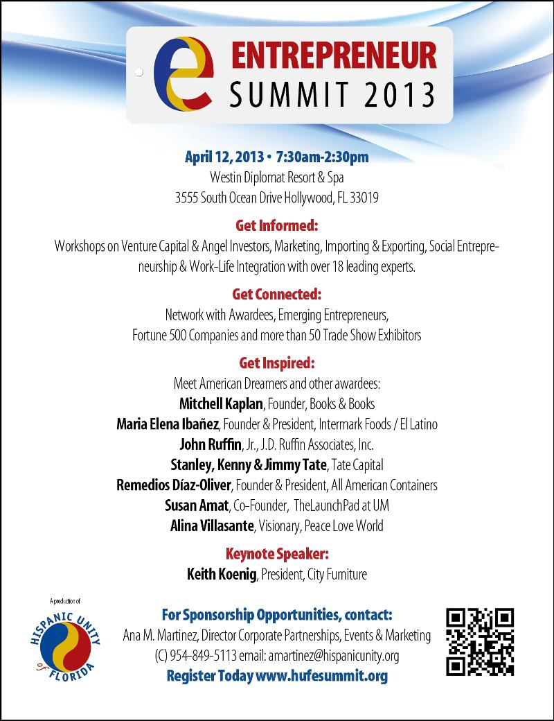 Entrepreneurs Summit