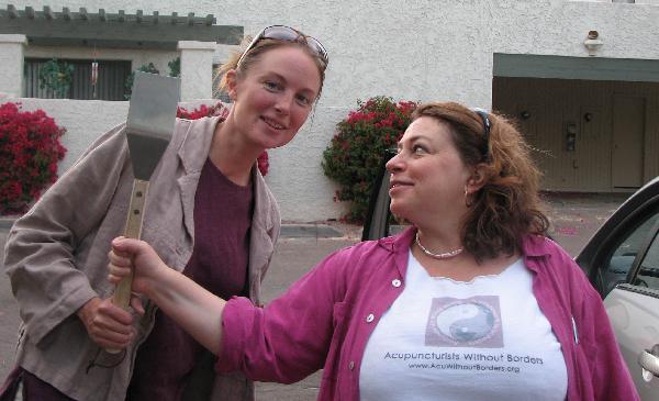 Sarah and Diana