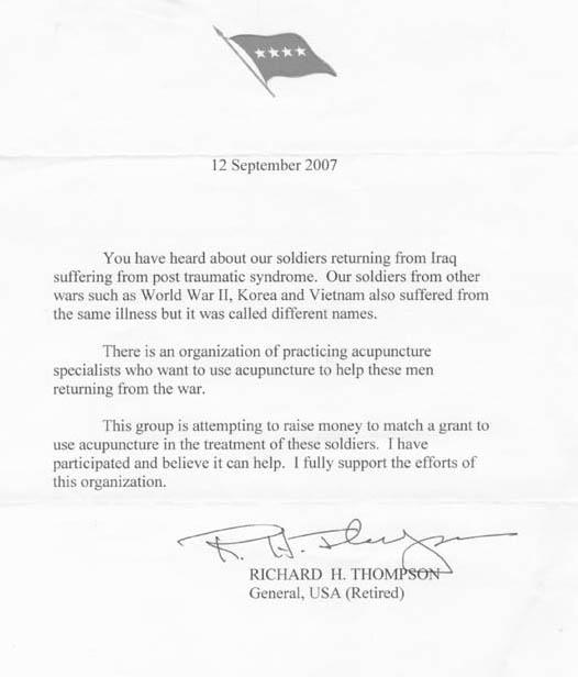 General's Letter