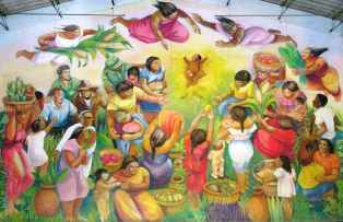 """Mural """"Nuevo Amanecer"""""""