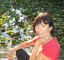 Judy at Lily Pond