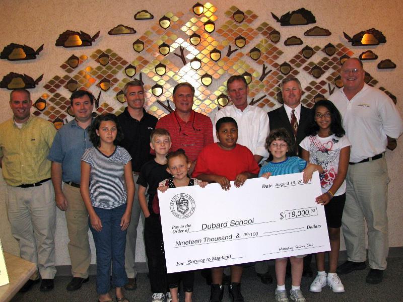 Sertoma Club donation