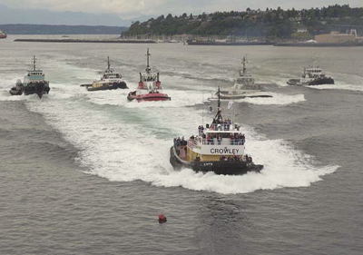 Tugboat Race