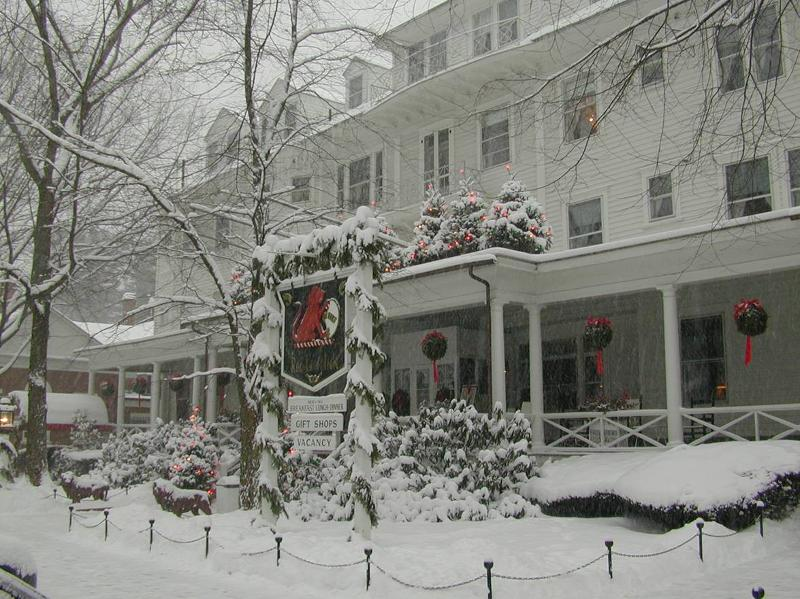 Winter at The Red Lion Inn