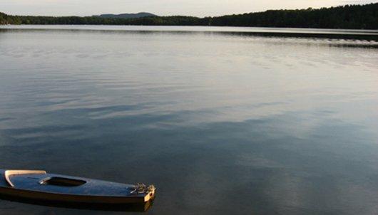 a berkshire lake