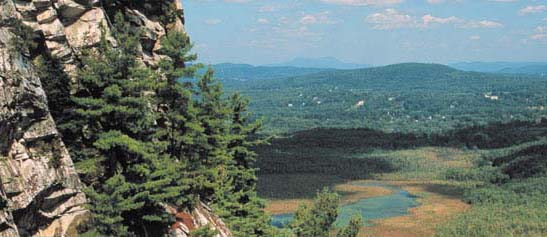 View from Monument Mountain