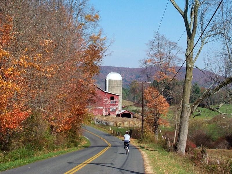 Biking & foliage - the Berkshires