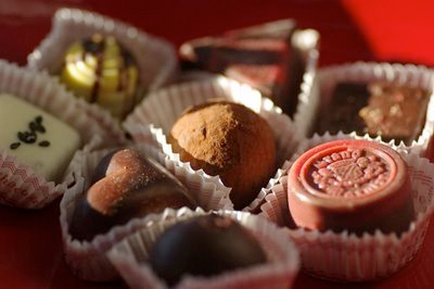 Truffles from Peace, Love & Chocolate