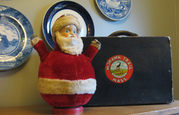 Vintage Santa at The Porches Inn