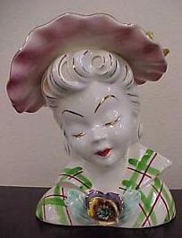 Vintage Vase - Lady